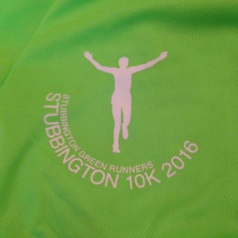Stubbington 10k tshirt