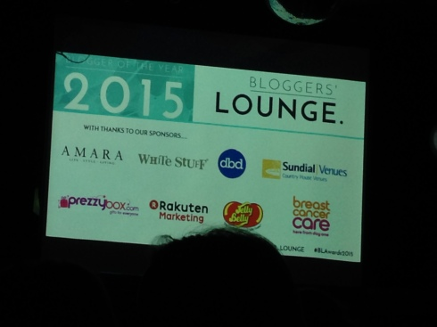 Bloggers' Lounge Awards 2015