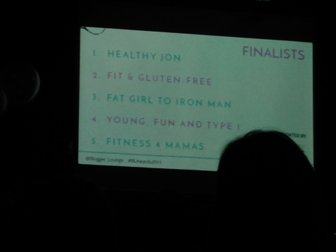 Health and Fitness nominees
