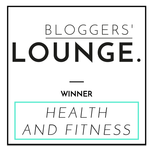 Bloggers' Lounge Health and Fitness Blogger of the Year