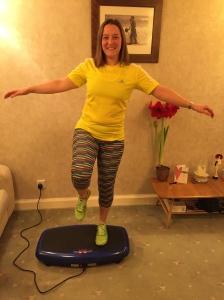 Practising my balance