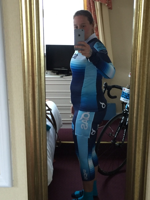 Cycling at 6.5 months pregnant