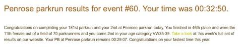 Penrose parkrun