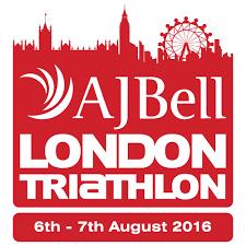 AJ Bell London Triathlon logo