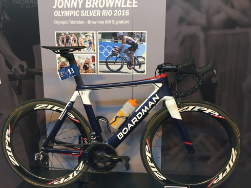 Jonny Brownlee's Boardman from the Rio Olympics