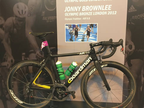 Jonny Brownlee's Boardman from the London Olympics