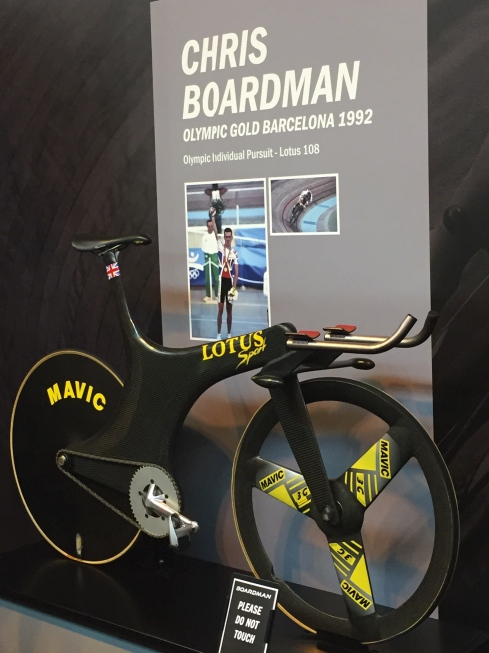 Chris Boardman's Lotus from the Barcelona Olympics