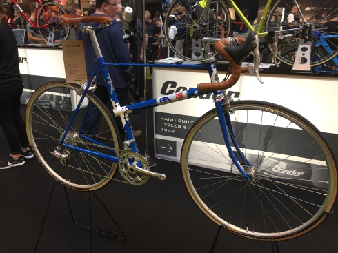 Unusual Paris Galibier retro bike by Condor