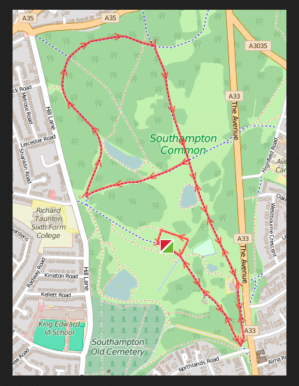 Decathlon 5k route