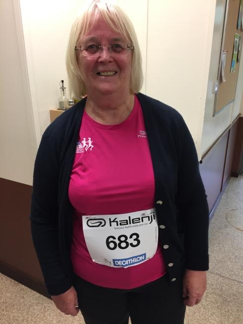 Sandra after Decathlon 5k
