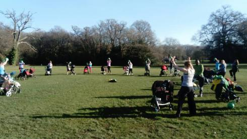 Buggy Mums on The Common