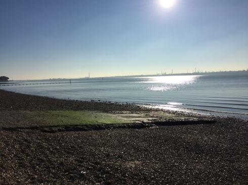 Sunshine on Weston Shore