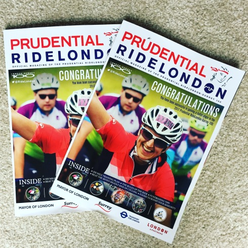Ride London magazines
