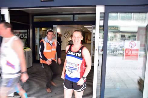 Chris Rees sneaking up on Tamsyn