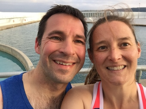 Jubilee aquathlon selfie
