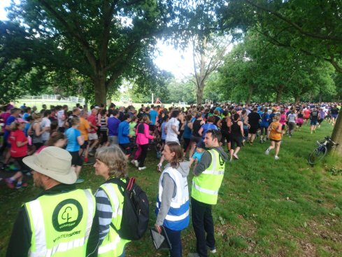 RDing at parkrun