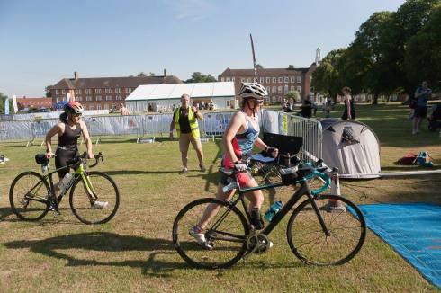 St Swithuns Tri bike 1