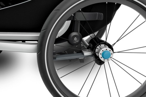 Thule Chariot Lite suspension