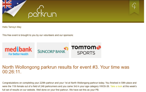 North Wollongong parkrun