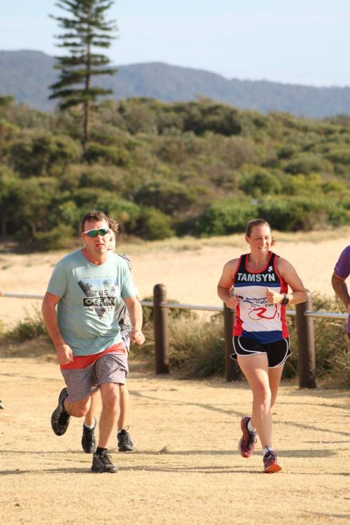 Second parkrun at North Wollongong