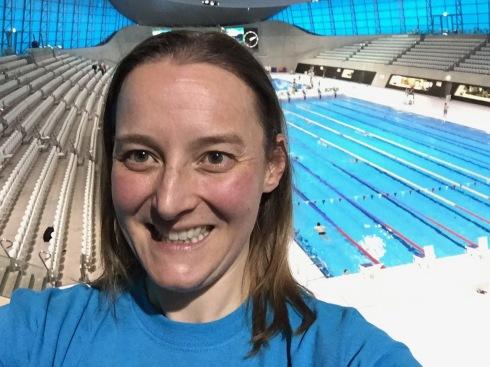 Selfie at Aquatic Centre