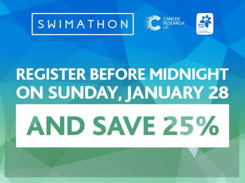 Swimathon 25% discount