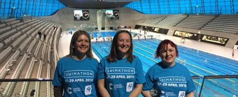 Swimathon ambassadors