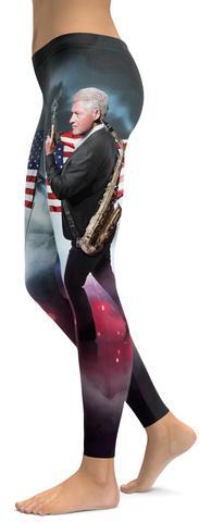 Bill Clinton leggings