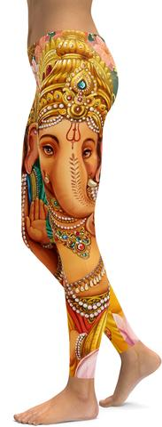 Lord Ganesha leggings