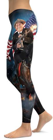 Ronald Reagan leggings