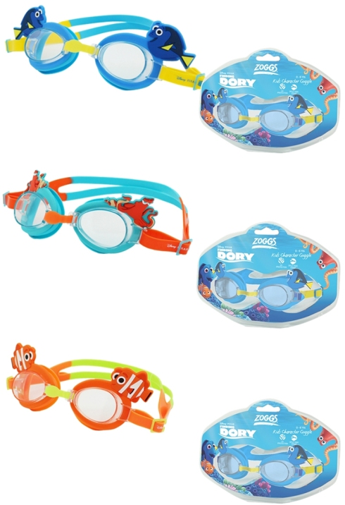 Funky Zoggs Finding Dory goggles